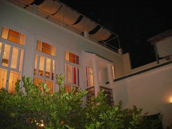 Hotel du Tresor: Ein Blick nach oben