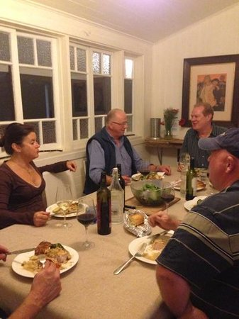 Laurels of Chinchilla: in the dining room