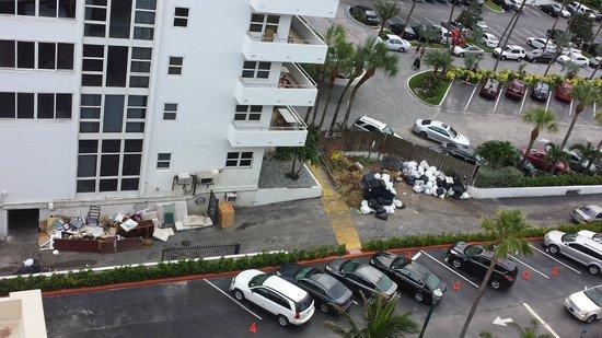 Ocean Sky Hotel & Resort : Daily View of Next Door