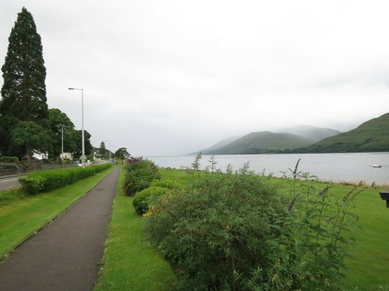 Buccleuch Guest House: View from B&B