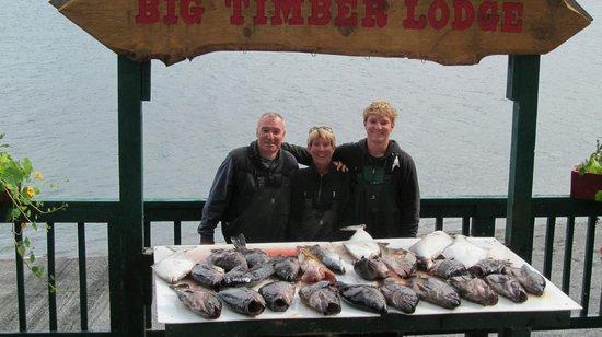 Big Timber Lodge : a days catch