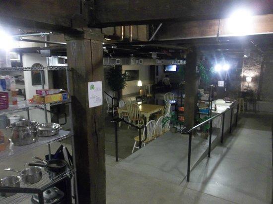 Nashville Downtown Hostel: Common area