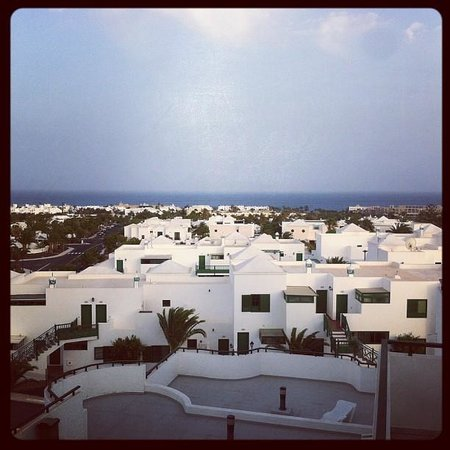 Aparthotel Lanzarote Paradise: View from our Apartment