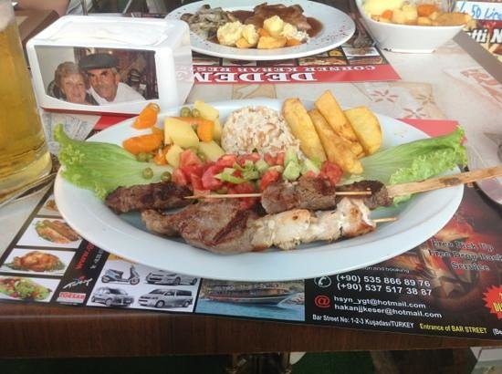 Dedem K. Restaurant : just aboutvto tuck into this