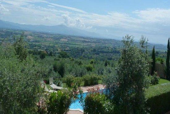Villa Torricella: Villa in collina affitto vacanze weekend vicino Cortona