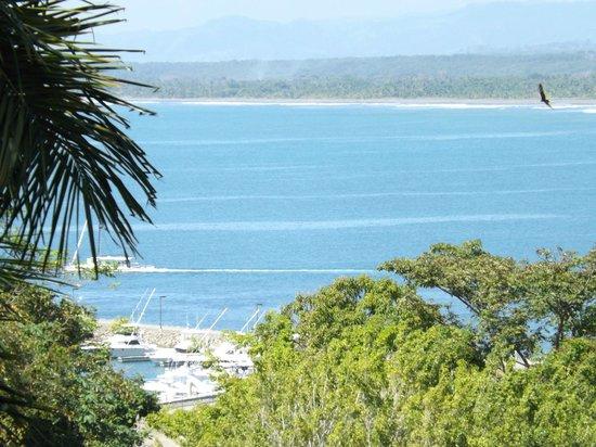 Condotel Las Cascadas: View to the Marina Pez Vela