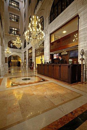 Lobby Entrance Picture Of Legacy Ottoman Hotel Istanbul Tripadvisor