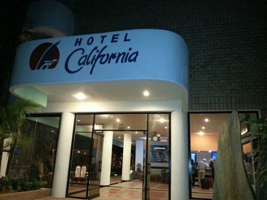 Hotel California: The entrance