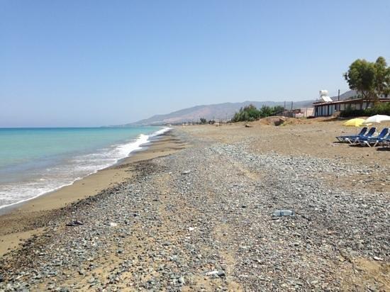 Santa Barbara Resto Beach Bar View Eastwards From