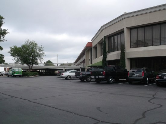 Ramada Plaza Fayetteville Fort Bragg Area: the convention side of the hotel