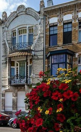 A fine Art Nouveau  example in a back street of Zurenborg