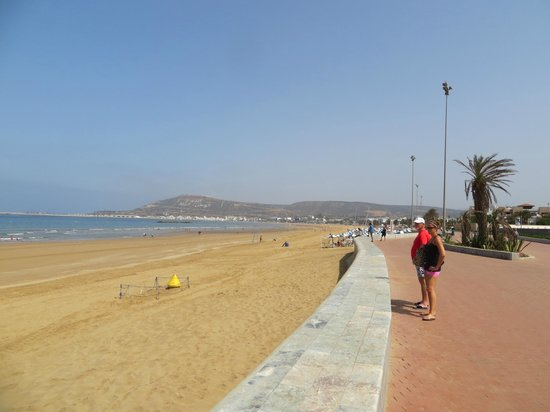 Atlantic Palace Agadir: endloser, breiter Strand