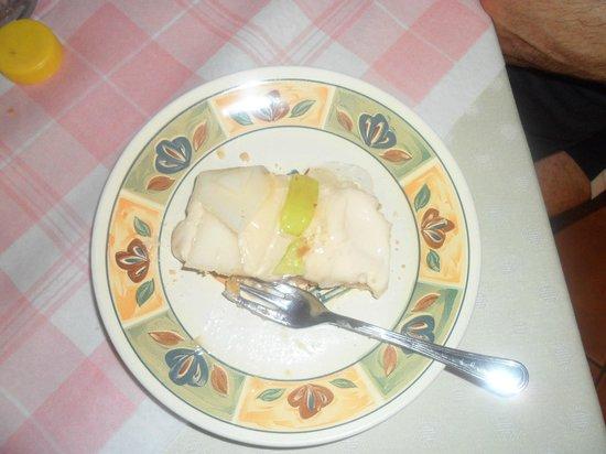 Agriturismo La Colombaia: La delicatissima crostata di frutta, fotografata dopo l'assaggio