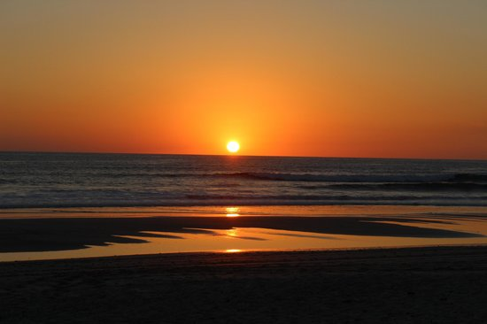 Mariposa Vacation Homes : The sunsets from the private beach will take your breath away!