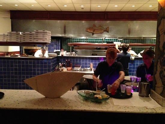 Restaurant Open Kitchen