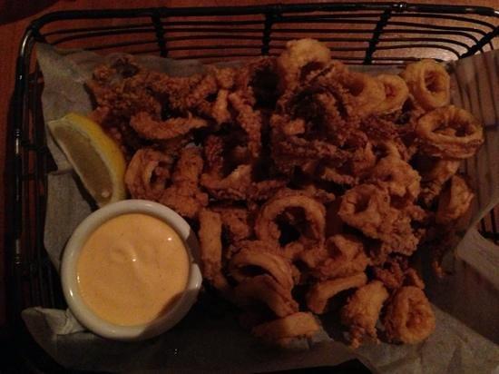 Marlin Restaurant & Bar: calamari gebacken
