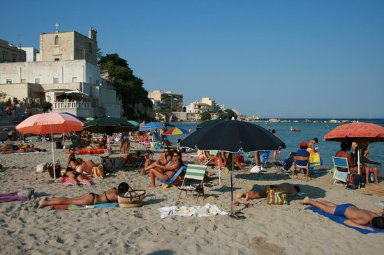 Tenuta Belvedere : Otranto - underbar badstrand mitt i stan