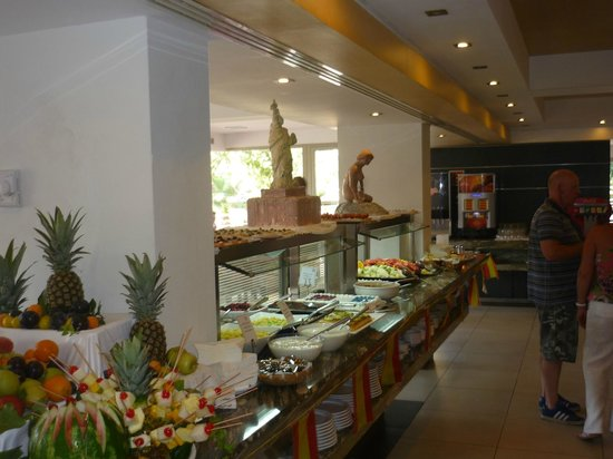 Ola Club Bermudas : restaurant