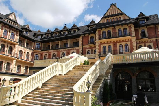 Grand Hotel Stamary: Outside
