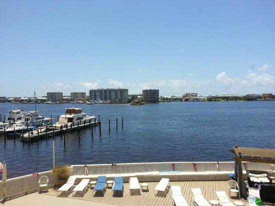 Inn on Destin Harbor: View from the beah