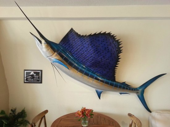 Inn on Destin Harbor: Marlin in the dining room