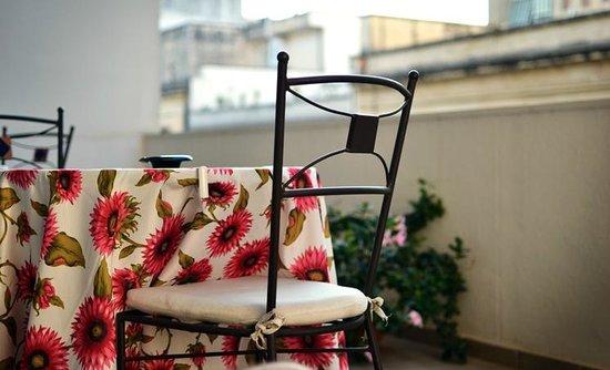 B&B Piazza 300mila: Relax sul terrazzo