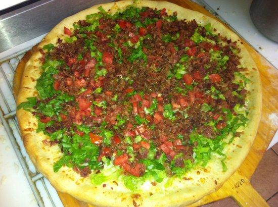Bowmanstown, Πενσυλβάνια: taco pizza