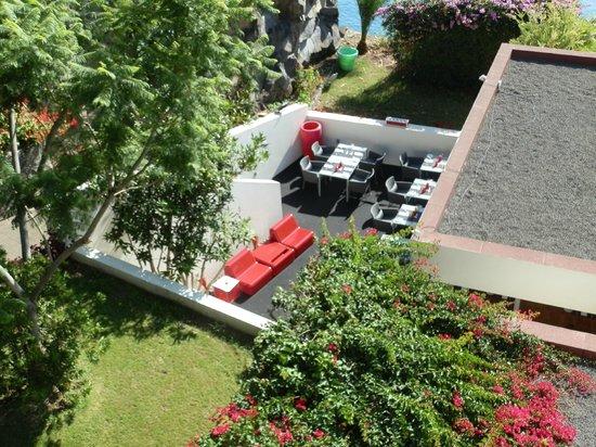Estalagem Ponta do Sol : terrasse du restaurant