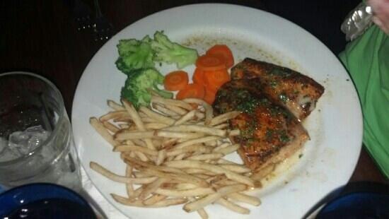 The Patio: salmon