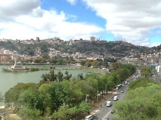 Hotel Carlton Antananarivo Madagascar: vista dalla camera