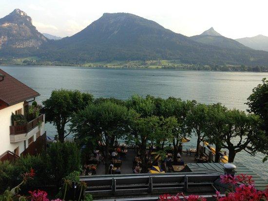 Seebockenhotel Zum Weissen Hirschen: View from balcony of room 34