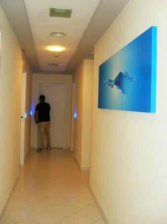 Hotel Cosmomare : corridoio