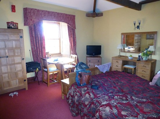 Byland Abbey Inn: Mouseman bedroom
