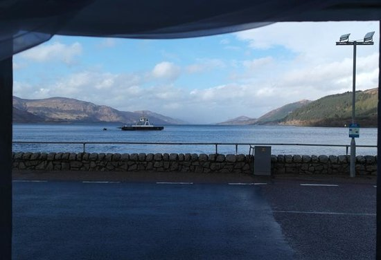 Inn at Ardgour: The View