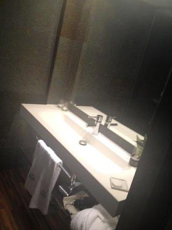 Hotel Gran Derby Suites: Sink area