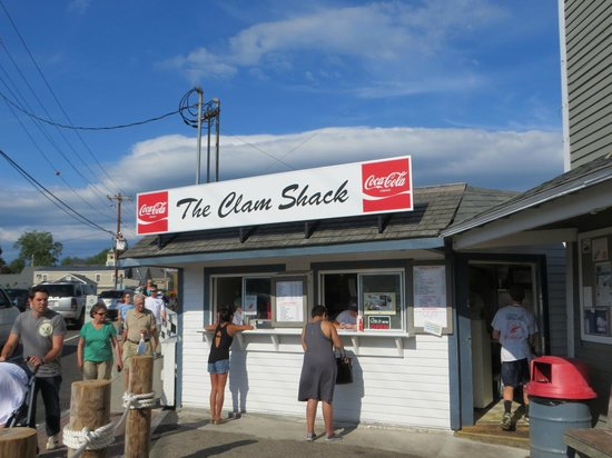 Excellent lobster roll - Picture of Clam Shack, Kennebunk - TripAdvisor