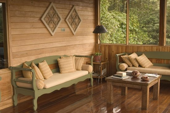 Monteverde Cloud Forest Lodge: Rest and relax in our quiet living area