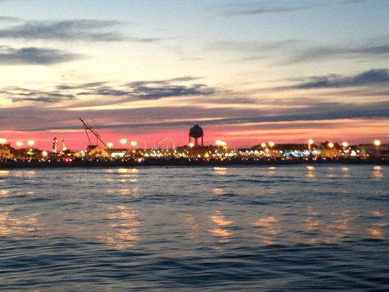 Judith M Fishing: Judith M Sunset view