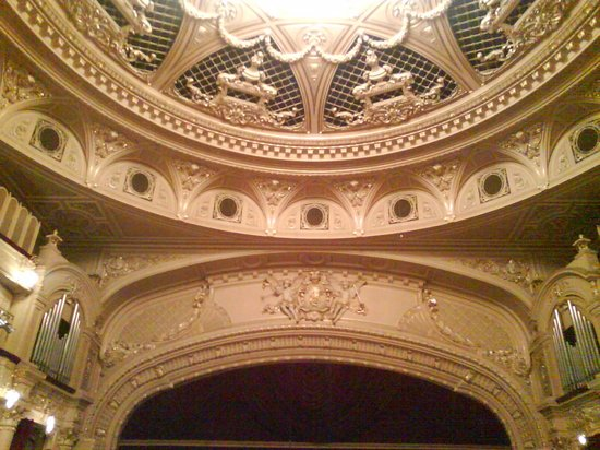 National Opera House of Ukraine: Top of stage