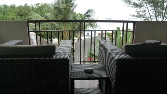 Mama Beach Residence: Le balcon