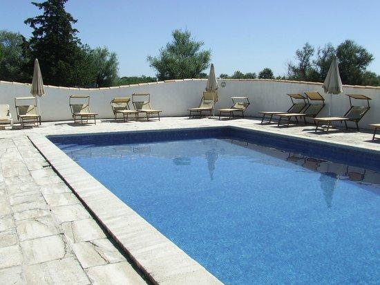 Mas des Barres : piscine géniale.....