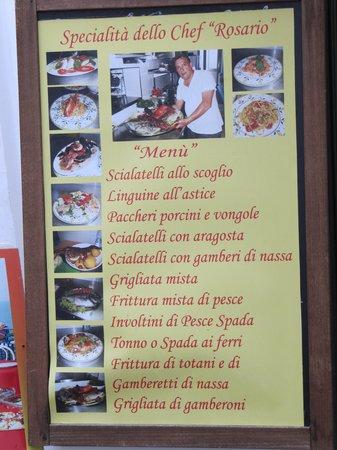 Ristorante da Luciano's: Stromboli - Pizzeria Luciano - Specialità