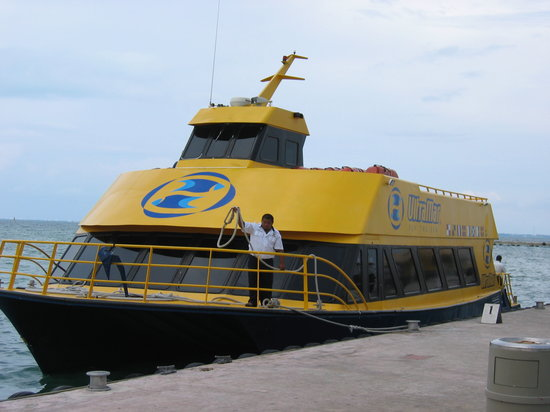 UltraMar ferry from Puerto Juarez to Isla Mujeres
