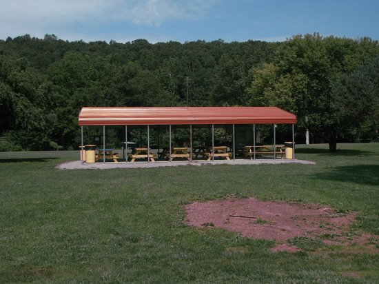Lazy Brook Park: A pavilion for use...there maybe a fee involved. Contact Tunkhannock Township!