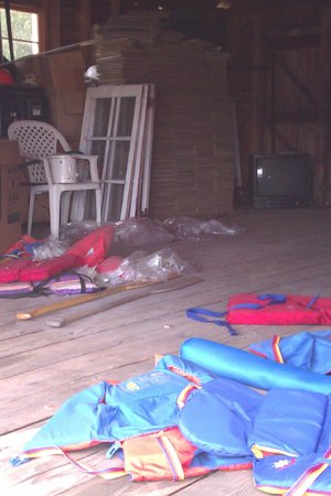 Storage For Boats And Life Jackets Picture Of Nomi Resort