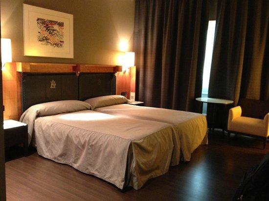 Gran Hotel Lakua: große Betten