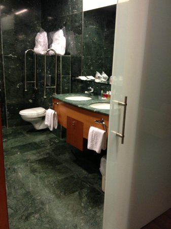Gran Hotel Lakua: Barrierefreies Badezimmer