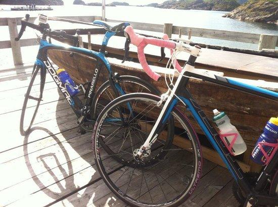 Nyvagar Rorbuhotel: Bicyclerace