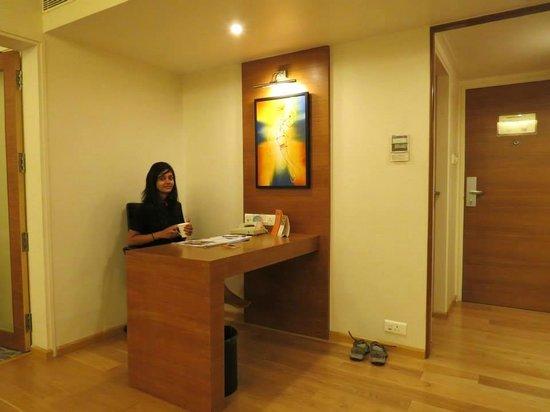 Noorya Hometel : My work station