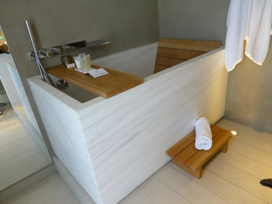 Hotel De Nell: notre salle de bain